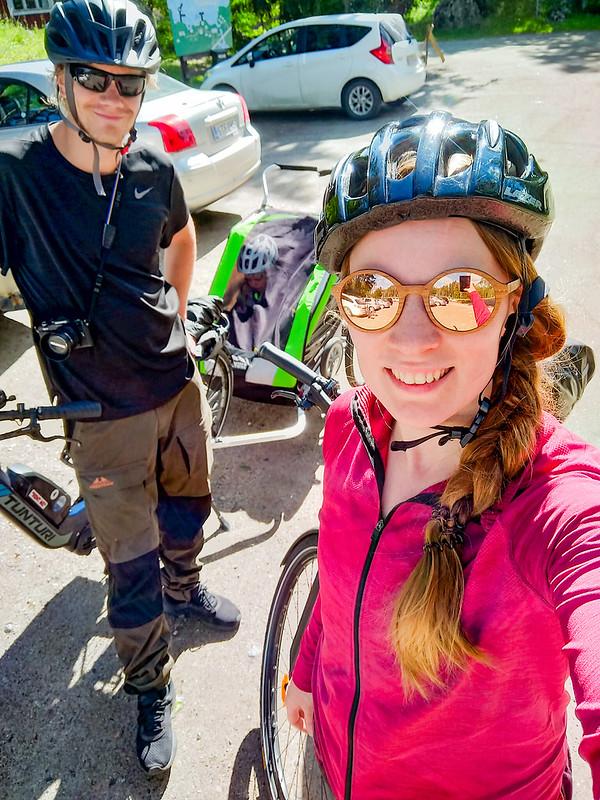 Pyörällä Saimaalla Puumala