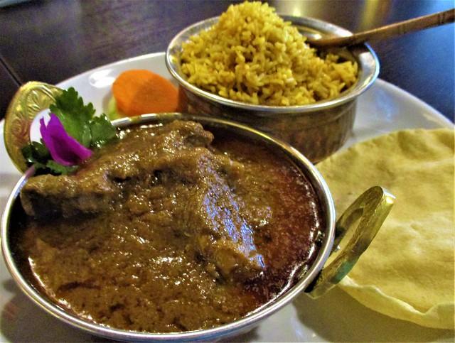 Cafe IND mutton biryani