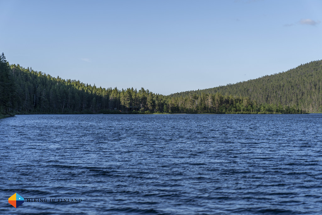 Look across Ravadasjärvi