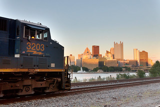CSX 3203 Outside of Pittsburgh | by thederek412
