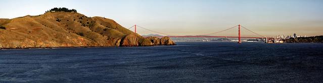 Golden Gate Bridge taken from Point Bonita