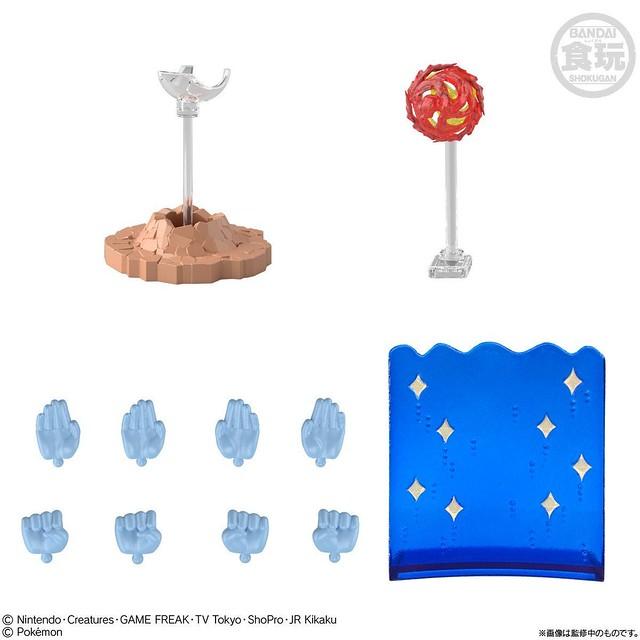 可動食玩「SHODO 寶可夢」第 4 彈登場  使用擴充零件再現招式!
