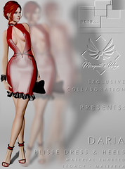 Daria Dress & Heels