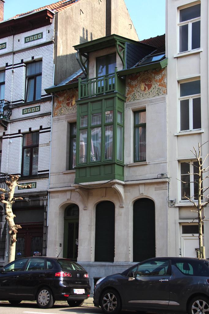 BRUXELLES - Art nouveau / Arch. E. Vanlerberghe