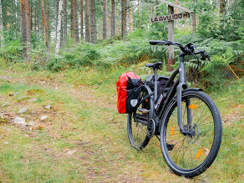 pyöräillen Saimaalla