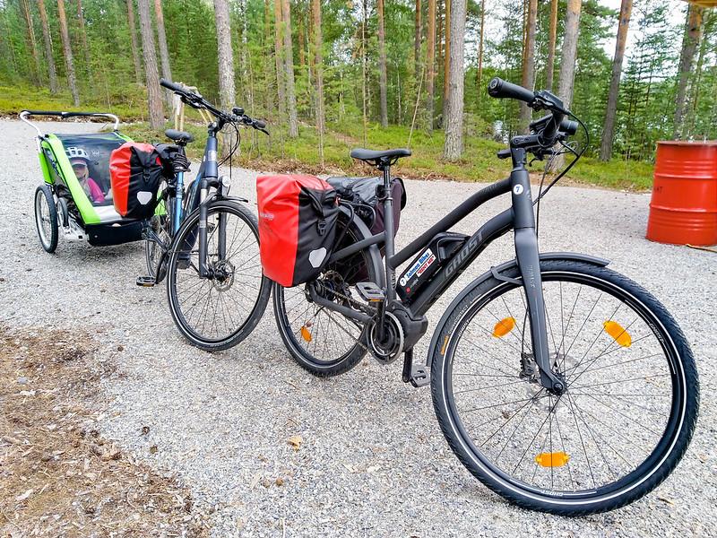 Pyörällä Saimaan saaristoreitti