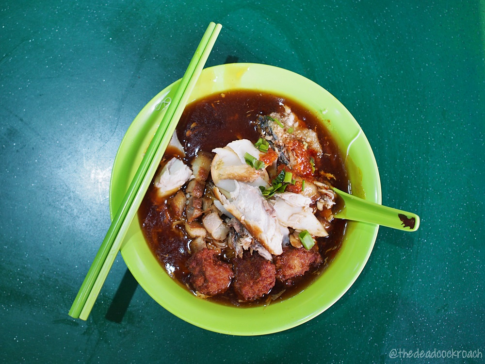 feng zhen lor mee, food, food review, lor mee, review, singapore, taman jurong market & food centre, 凤珍卤面
