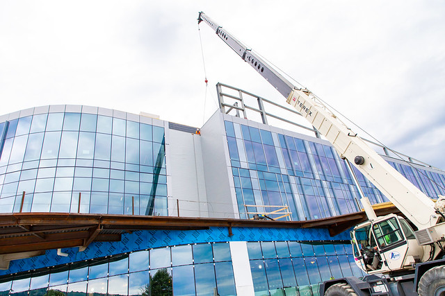 Penn State Health acute care hospital meets construction milestone