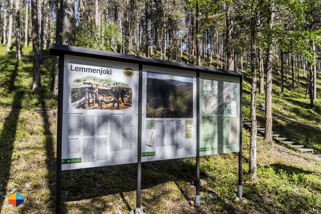 Info Board at Kultahamina