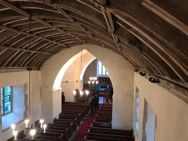 Ceredigion, LLANFIHANGEL Y CREUDDYN, St Michael (2020) #4 - credit to Frans Nicholas