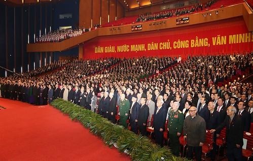 Đại hội Đảng toàn quốc lần thứ XII: Lễ khai mạc Đại hội đại biểu toàn quốc lần thứ XII Đảng Cộng sản Việt Nam