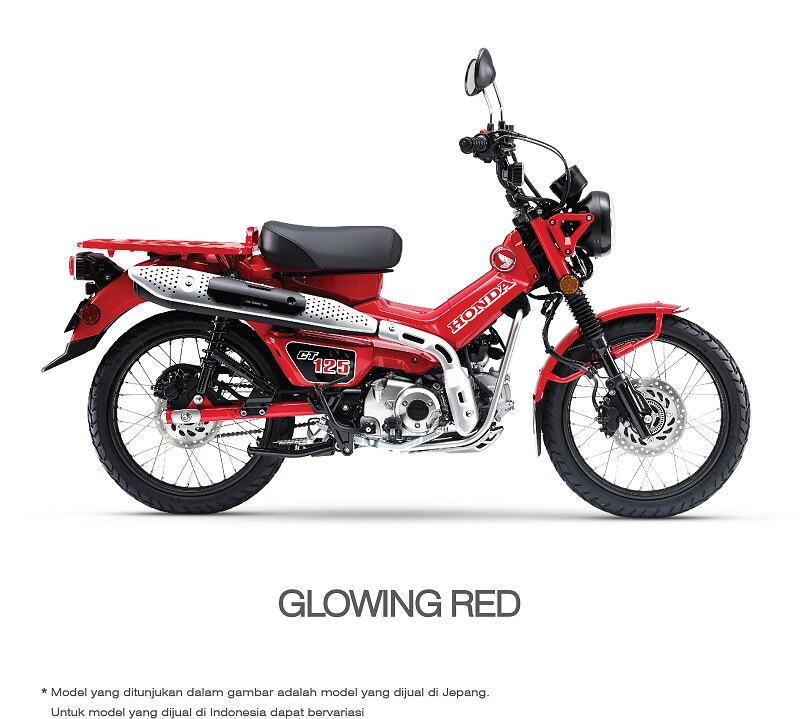 Honda CT125 Glowing Red