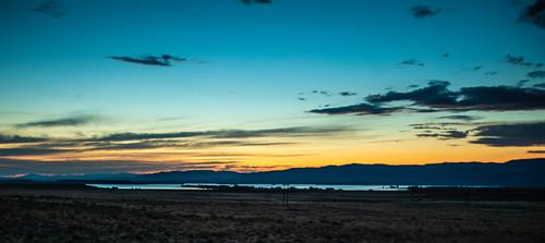 wyoming shoshoni fremontcounty boysenreservoir boysenstatepark twilight sunset water sky clouds cloudscape