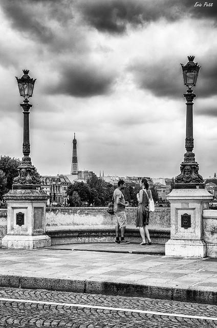 Tourisme sur le Pont neuf - Paris 1