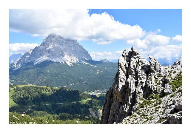 Dolomiti, vista del monte Pelmo