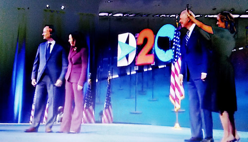 COVID-19 virtual DNC 2020 convention: blurry democracy. What's next hologram candidates?