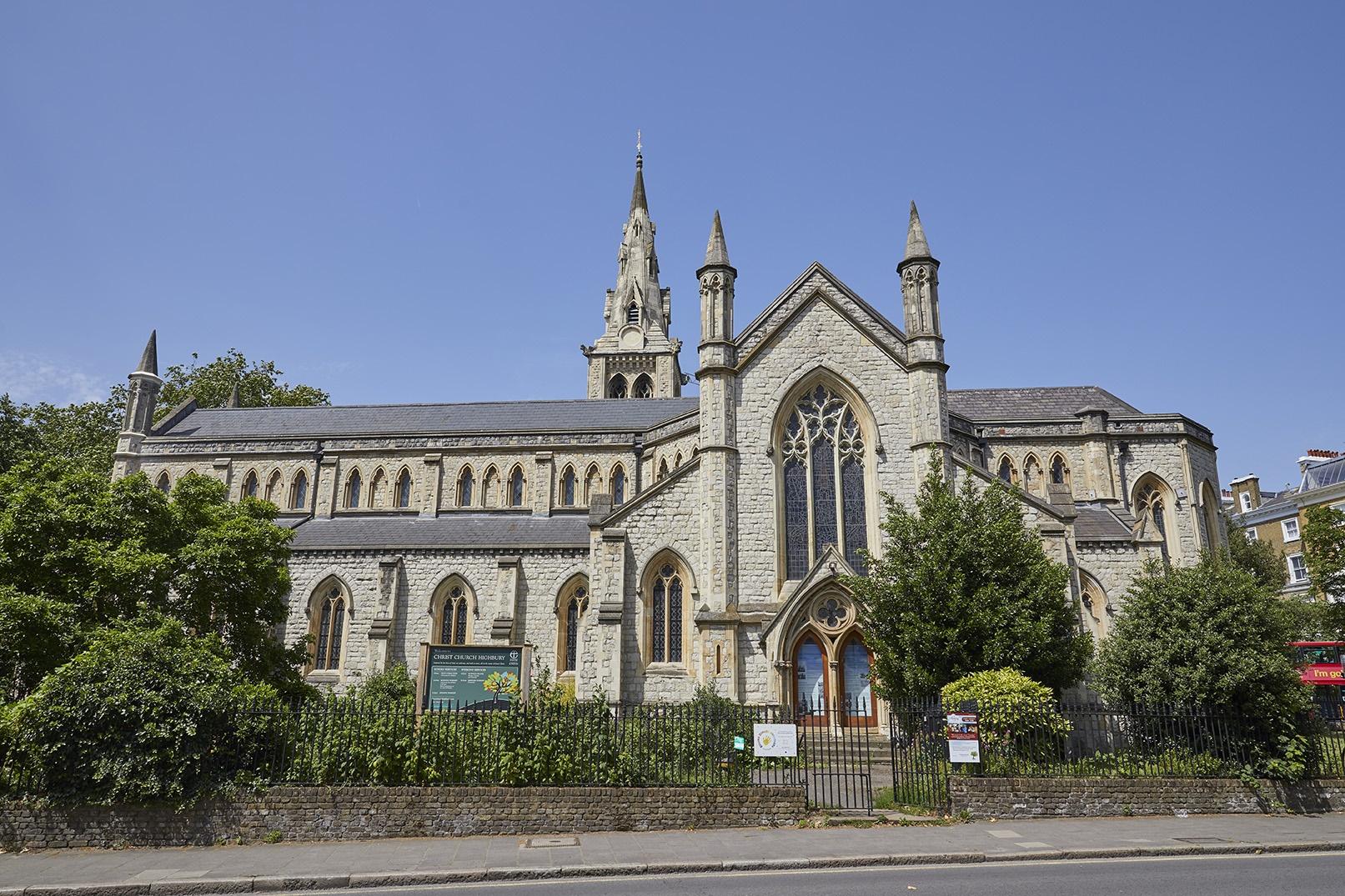 LONDON HIGHBURY Christ Church 2(please credit Christ Church)