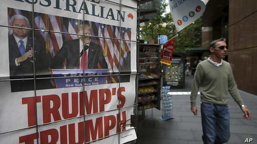Australia 2016 US Election