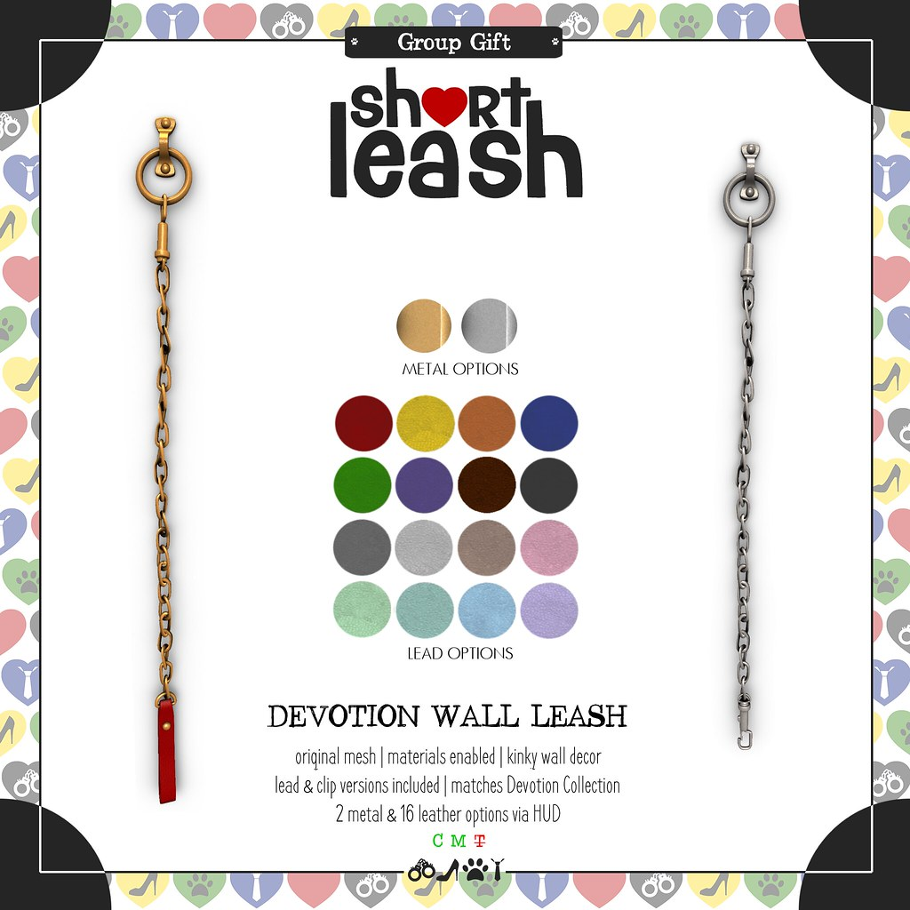 .:Short Leash:. August Group Gift
