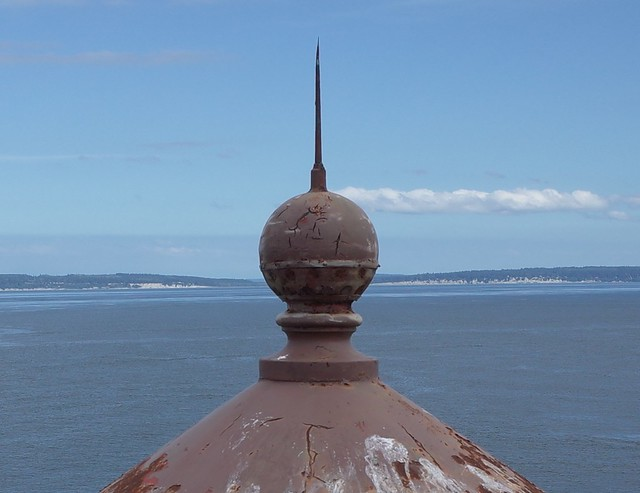 Point Wilson Lighthouse - the Ball Vent