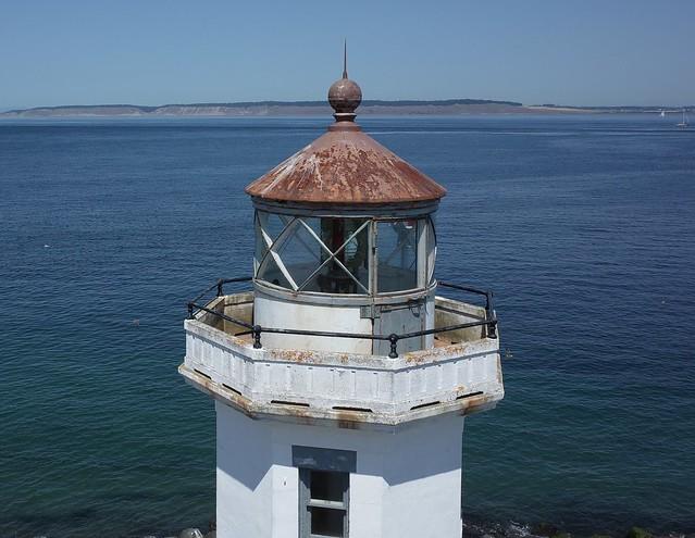 Point Wilson Lighthouse - the Lantern Room