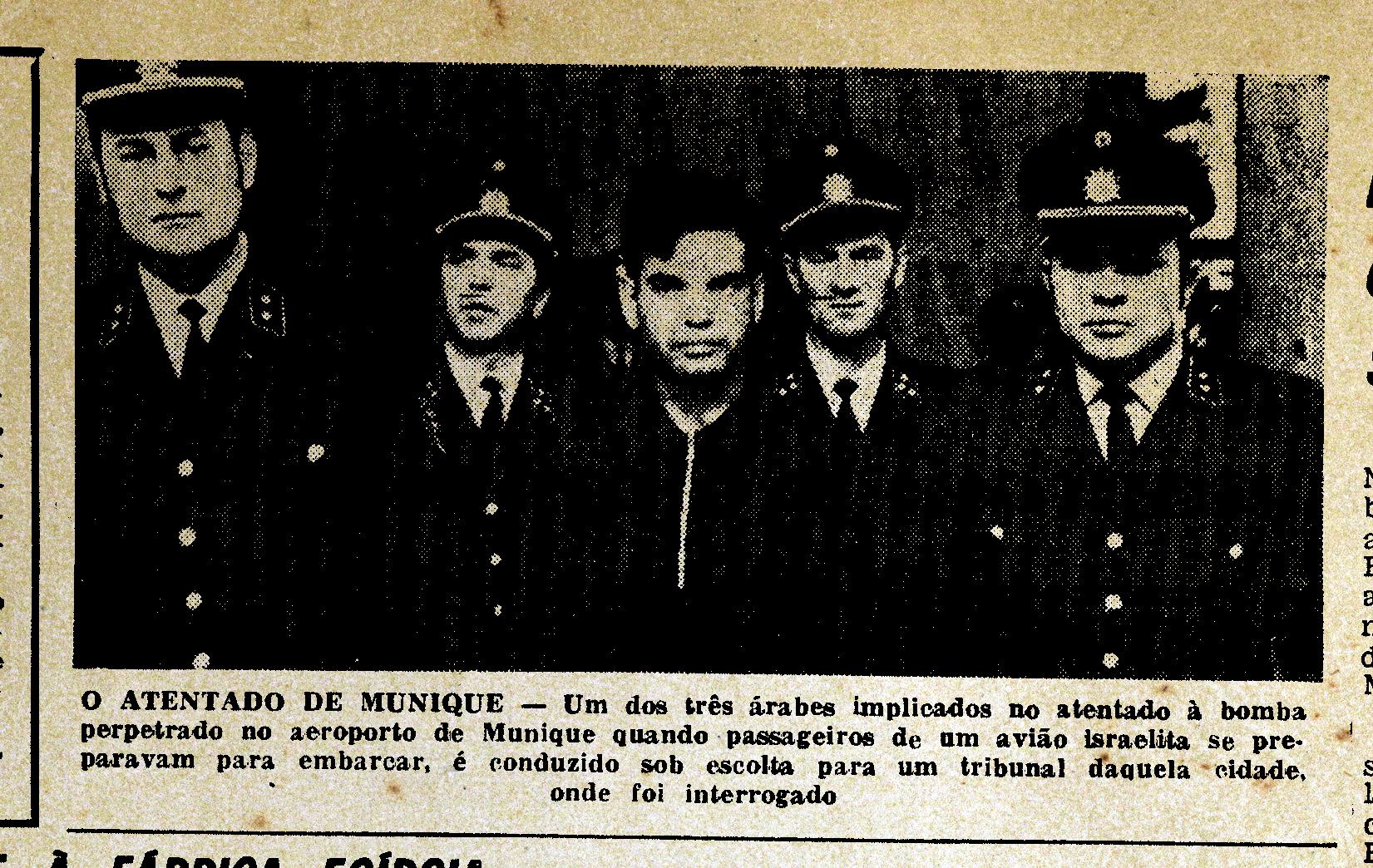 «O atentado de Munique», Diário de Lisbôa, 13/II/1970, p. 9