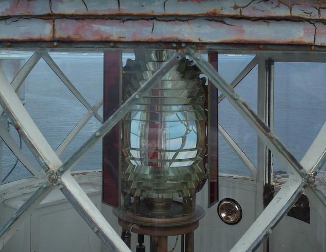 Point Wilson Lighthouse - the Fresnel Lens