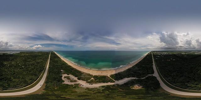 Treasure Coast aerial panoramic