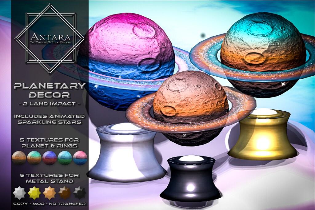 Astara – Planetary Decor Ad