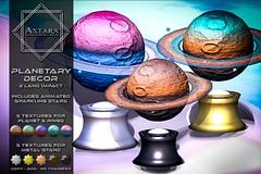 Astara - Planetary Decor Ad