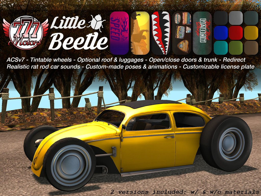 [777] Little Beetle @ Shiny Shabby Event