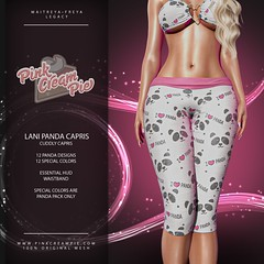Lani Panda Capris @ Fly Buy Friday 8/21