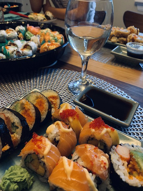 Sushi from MHK. Mmmmmmm