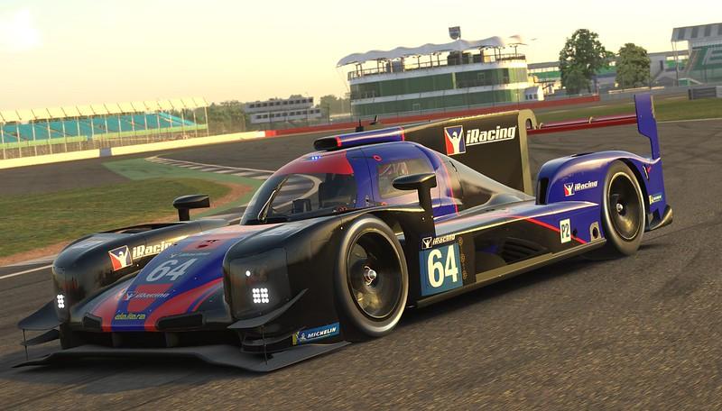 iRacing - Dallara P217 LMP2 at Silverstone