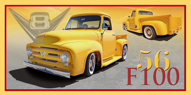 Spice it up and put some Mustard on it  - 1956 Ford F-100 Pickup