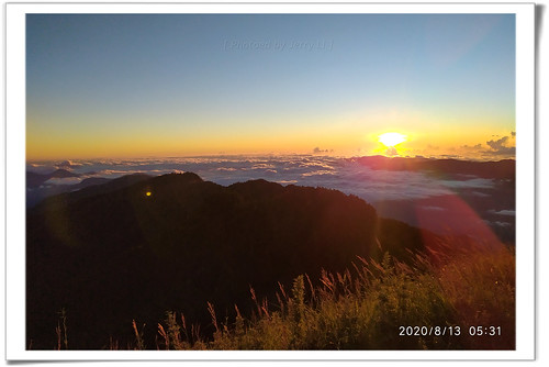 seaclouds clouds cloud mountain hiking mountaintop sunrise sky landscape 桃山 武陵四秀 台灣百岳