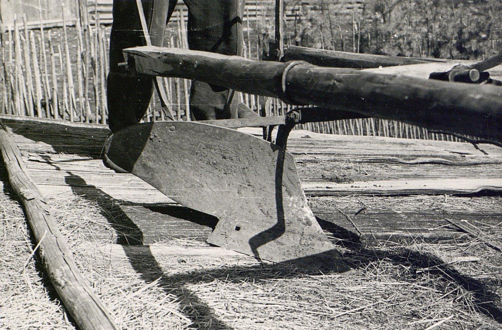Часть железной сохи «пермячка»