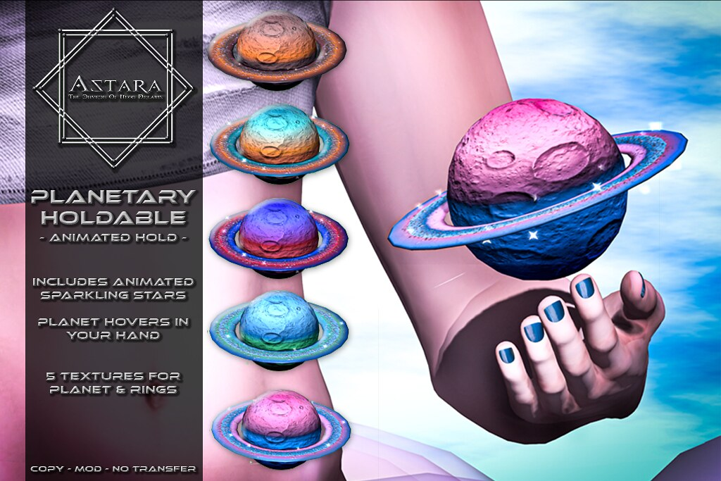 Astara - Planetary Holdable Ad