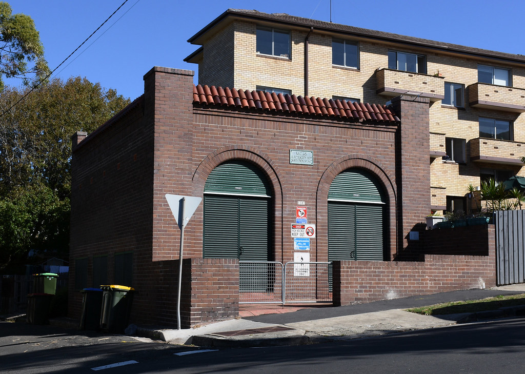 Electricity Substation No 347, Bronte, Sydney, NSW.