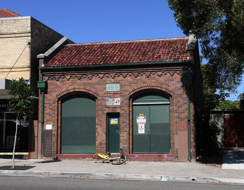 Electricity Substation No 345, North Bondi, Sydney, NSW.