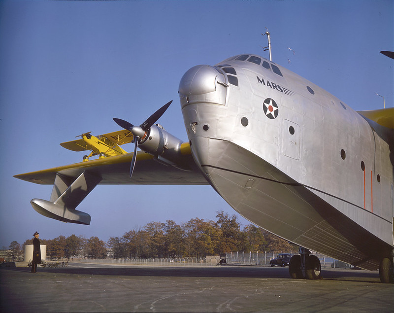 The XPB2M-1 prototype for the Martin Mars flying boat