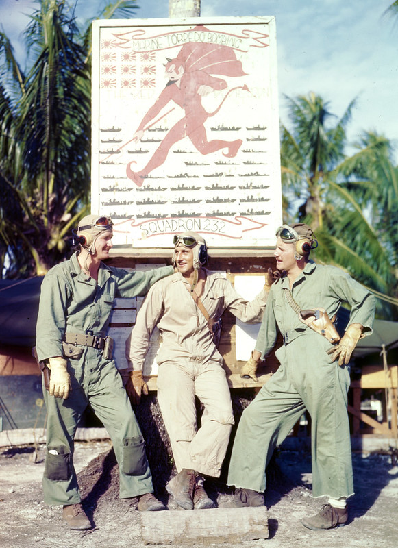Pilots of Marine Torpedo Bombing Squadron 232