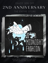 After Midnight Fashion2ND ANNIVERSARY SALE