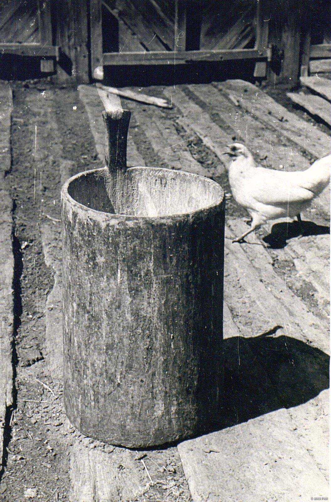 «Пудовка»  - долбленая мера для зерна