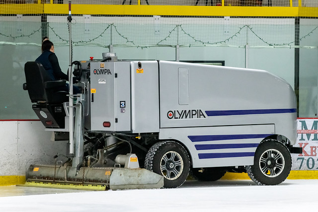 Olympia Ice-Resurfacing Machine