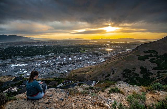 Catherine - Ensign Peak - Salt Lake City, Utah - June 2020