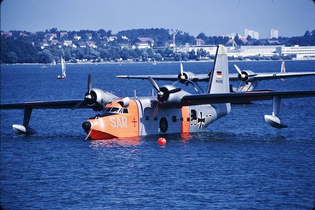 60 07 HU-16 German Navy Friedrichshafen
