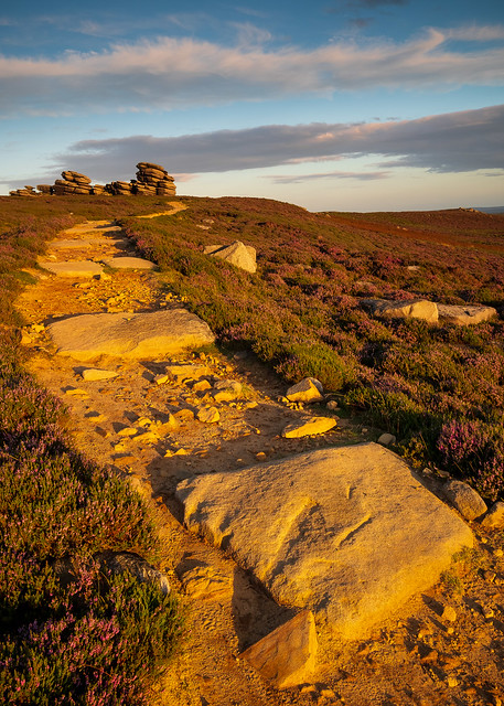 Evening Light, Derwent Edge