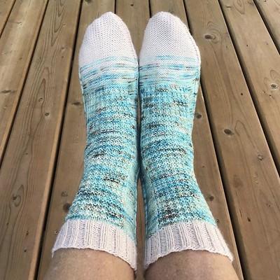 Patti (@patnelann) finished a pair of pretty socks!