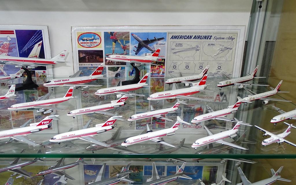 Trans World Airlines (TWA) 1:400 Scale Model Fleet